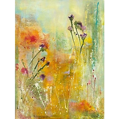 GreenBox Art 'Goldenseal' by Deborah Brenner Painting Print on Wrapped Canvas