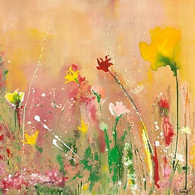 GreenBox Art 'In The Summer Time' by Deborah Brenner Painting Print on Wrapped Canvas