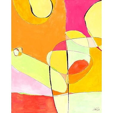 GreenBox Art 'Stained Glass Sun' Print on Wrapped Canvas
