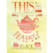GreenBox Art 'This Is My Happy Place' by Becca Cahan Graphic Art on Wrapped Canvas