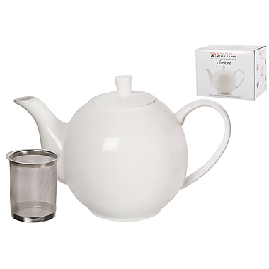Maxwell & Williams Infusions Teapot, White