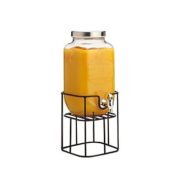 Maxwell & Williams – Distributrice de boissons Olde English sur support noir, 3.5 L