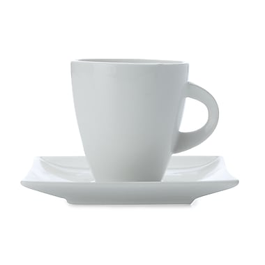 Maxwell & Williams East Meets West Teacup & Saucer, 4/Pack