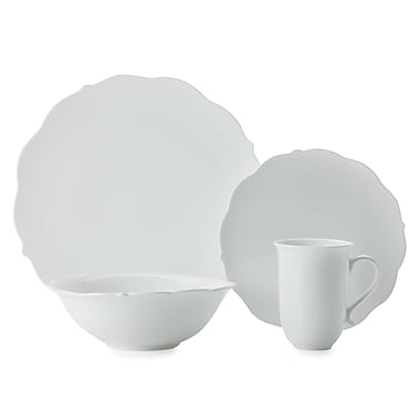 Maxwell & Williams White Rose 16-Piece Dinner Set
