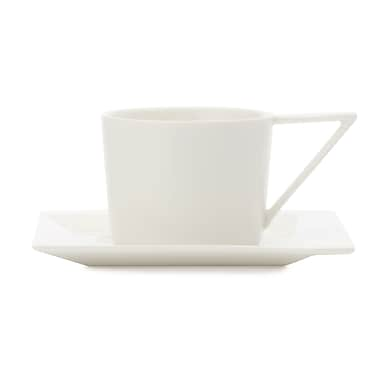 Maxwell & Williams ZiiZ Teacup & Saucer, 12/Pack