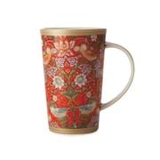 Maxwell & Williams William Morris Strawberry Conical Mug, 6/Pack