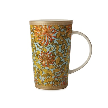 Maxwell & Williams William Morris Honeysuckle Conical Mug, 6/Pack