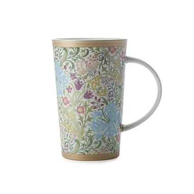 Maxwell & Williams William Morris Golden Lily Conical Mug, 6/Pack
