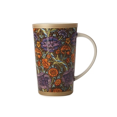 Maxwell & Williams William Morris Wandle Conical Mug, 6/Pack