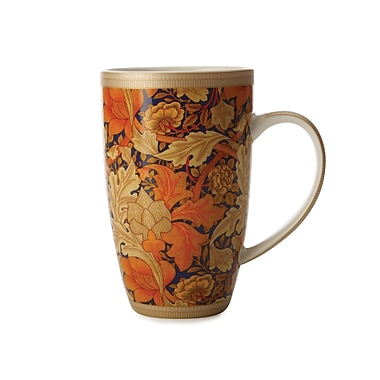Maxwell & Williams William Morris Acanthus Coupe Mug, 6/Pack