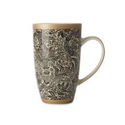 Maxwell & Williams William Morris Seaweed Coupe Mug, 6/Pack