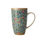Maxwell & Williams William Morris Bird & Pomegranate Coupe Mug, 6/Pack