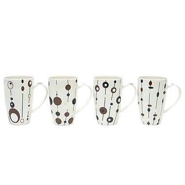 Maxwell & Williams String of Pearls Mugs, Set of 4