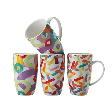 Maxwell & Williams Parade Mugs, Set of 4
