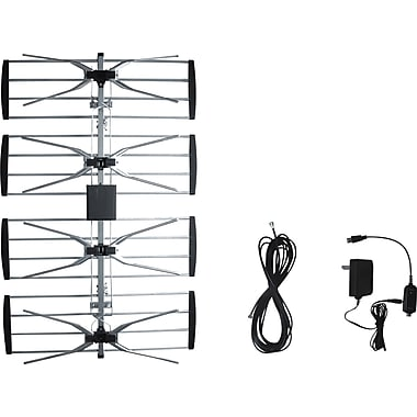 Electronic Master Outdoor TV Antenna with Booster, 33