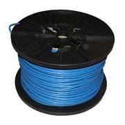 TygerWire – Câble réseau CAT6 UTP de 1000 pi, 13 x 13 x 13 po, bleu
