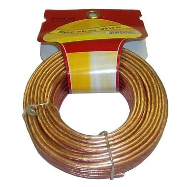 Electronic Master – Câble pour haut-parleurs à 2 fils avec 16 AWG de 50 pi, 3,2 x 3,5 x 3,5 po, cuivre