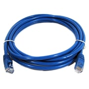 "Digiwave 12 Feet Cat5e Male to Male Network Cable, 4"" x 4"" x 1"", Blue"