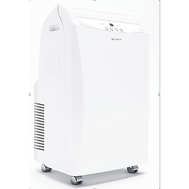 Gree 12,000 BTU Portable Air Conditioner with Heater, 17.7
