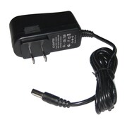 "SeqCam Power Adapter with DC12V & 500mA, 1.8"" x 2.3"" x 3"", Black"