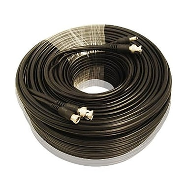 SeqCam 75' RG59 CCTV Cable, 3.2