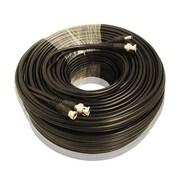 Câble CCTV SeqCam RG59 de 75 pi, 3,2 x 7,1 x 7,1 po, noir