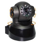 "SeqCam Pan&Tilt IP Camera, 6"" x 10"" x 6"", Black"