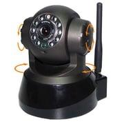 "SeqCam Wireless Pan&Tilt IP Camera, 6"" x 10"" x 6"", Black"