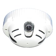 "SeqCam SEQ7113 Hidden Colour Security Camera, 6"" x 6"" x 3"", White"
