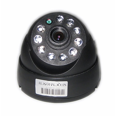 SeqCam SEQCM405CH IR Dome Colour Security Camera, 5
