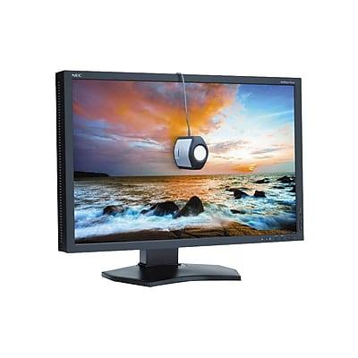 NEC P242W-BK-SV WUXGA Widescreen LED LCD Monitor, 24.1