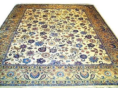 Pasargad Tabriz Traditional Lamb's Wool Area Rug