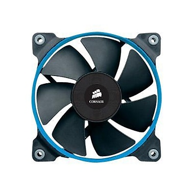 Corsair® Air Series High Performance Edition 120 mm Hydraulic Bearing PC Case Fan, 62.74 CFM, Black