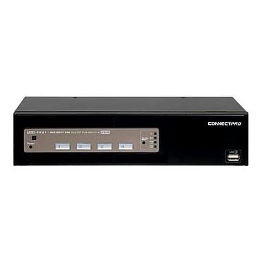 Connectpro 4-Port DVI Dual Monitor KVM Switch