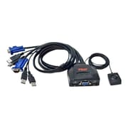 Syba USB KVM Switch with Port Selector Built-in 2.8-feet