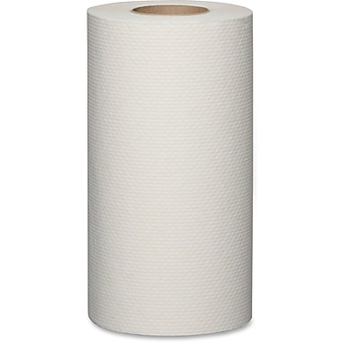 Metro Paper Economical Roll Paper Towels, White, 24 Rolls/Box