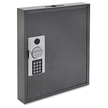 FireKing E-lock Steel Key Cabinet with Key Lock Bolts, White/Yellow/Silver/Black