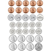 Ashley Math Die Cut Magnet, U.S. Coins, 170/Pack (ASH10067)