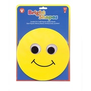 """Hygloss 6"""" Classroom Accents, Smiley Face, 5/Pack"""