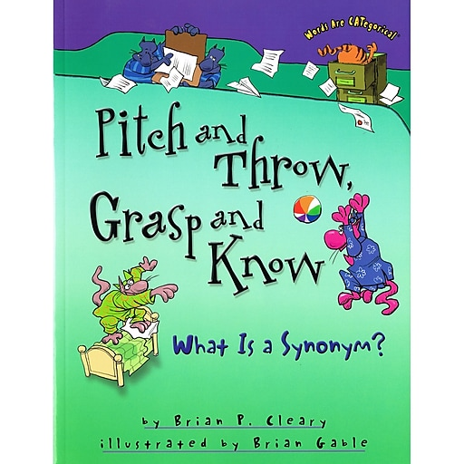 """Pitch and Throw, Grasp and Know: What is a Synonym?"""