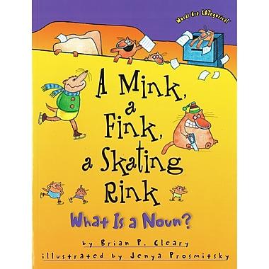 Lerner Publications A Mink, a Fink, a Skating Rink: What Is a Noun?, 4/Set (LPB1575054175)