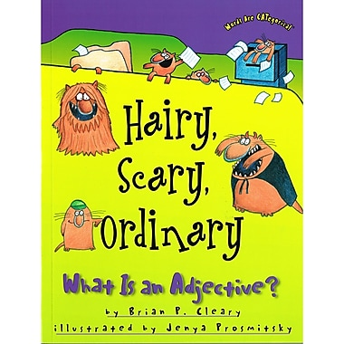 Lerner Publications Hairy, Scary, Ordinary: What is an Adjective?, 4/Set (LPB1575055546)