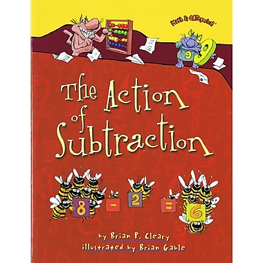 Lerner Publications The Action of Subtraction, 4/Set (LPB1580138438)