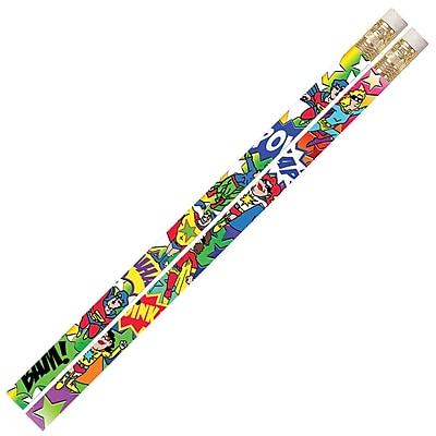 Musgrave Pencil Company Pencil, Super Duper Heroes, 12/Pack