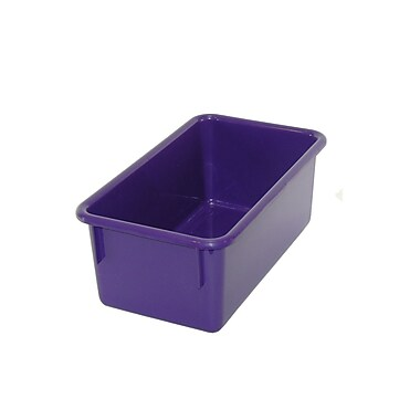 Romanoff Products Stowaway Small Tub, Purple, 5/Pack (ROM12106)