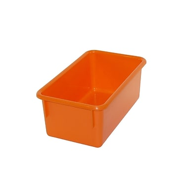 Romanoff Products Stowaway Small Tub, Orange, 5/Pack (ROM12109)