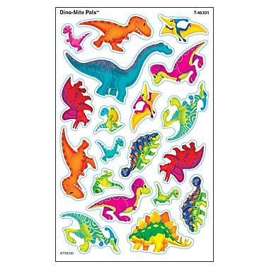 Trend Enterprises® Dino-Mite Pals™ superShapes® Large Stickers, Dinosaurs, 10/Pack