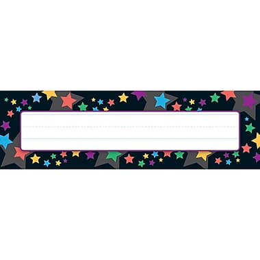 Trend Enterprises Desk Toppers Name Plate, Stargazer, 288/Pack (T-69076)