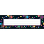 Trend Enterprises® Desk Toppers® Name Plate, Stargazer, 8/Pack