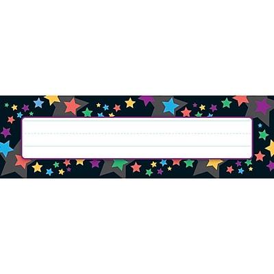 Trend Enterprises® Desk Toppers® Name Plate, Stargazer, 8/Pack